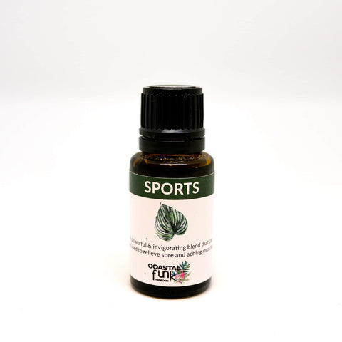 Sports Air Diffuser Essential Oil Blend - Coastalfunk
