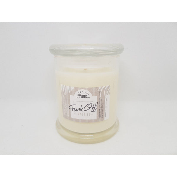 """Funk Off Mozzies"" Candle"