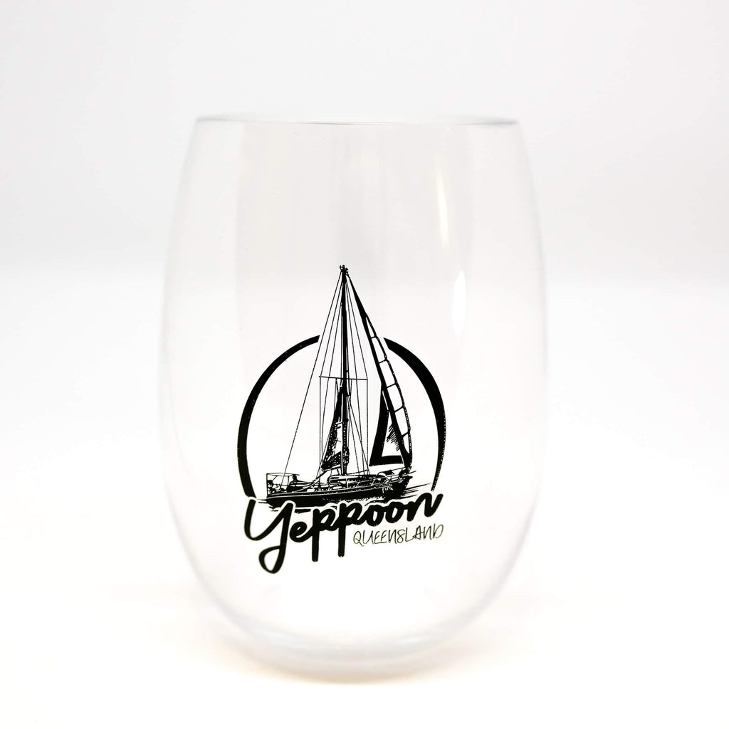 Stemless unbreakable drinkware Yeppoon yacht