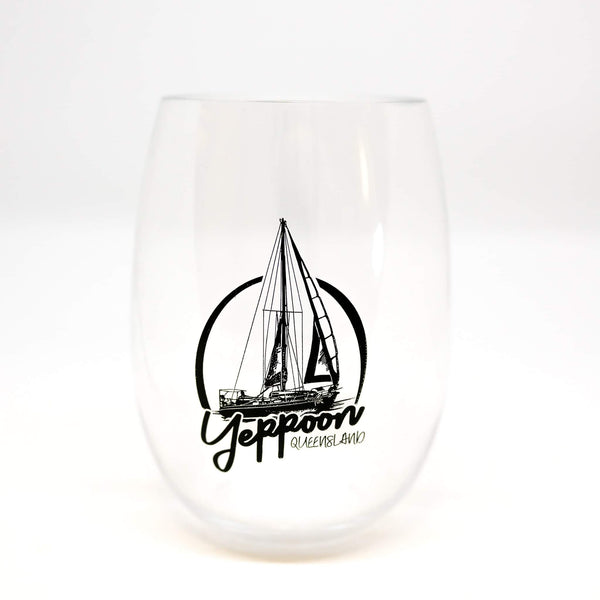 Stemless unbreakable drinkware Yeppoon yacht - Coastalfunk