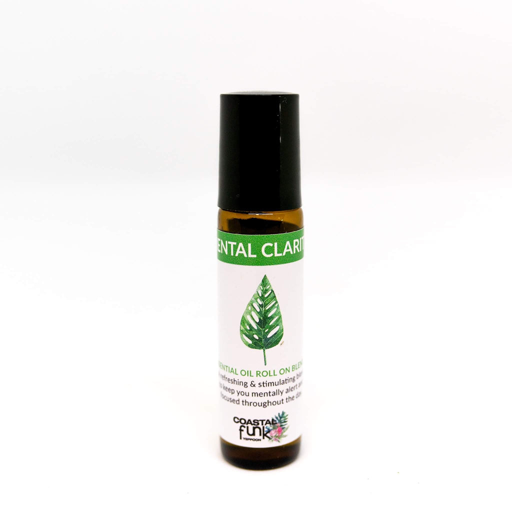 Mental Clarity Essential Oil Blend roll on