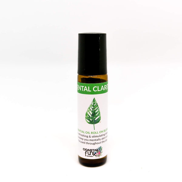 Mental Clarity Essential Oil Blend roll on - Coastalfunk