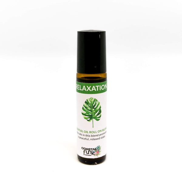 Relaxation Essential Oil Blend roll on - Coastalfunk