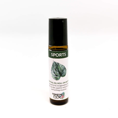 Sports Essential Oil Blend roll on - Coastalfunk
