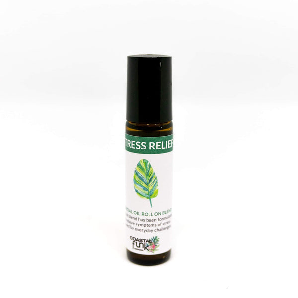 Stress Relief Essential Oil Blend roll on - Coastalfunk