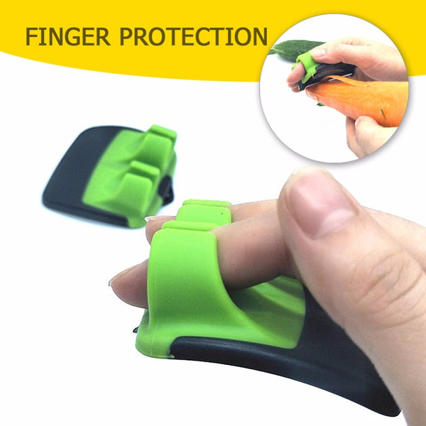 Easypeel,Finger Grips Vegetable Peeler