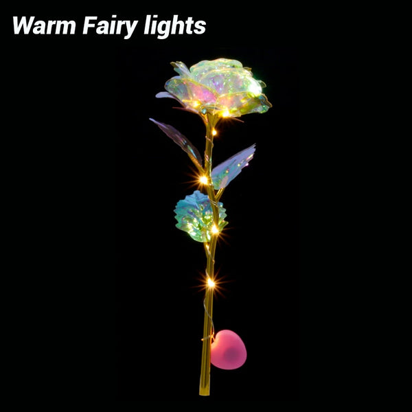Romantic LED Fairy Rose Flowers for Valentine's/Wedding gift
