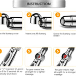Electric Acupuncture Point Massage Pen Instructions