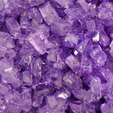 Grape Rock Candy