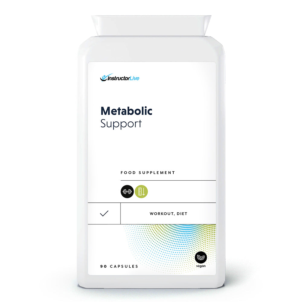 Metabolic Support Food Supplement - 90 Capsules
