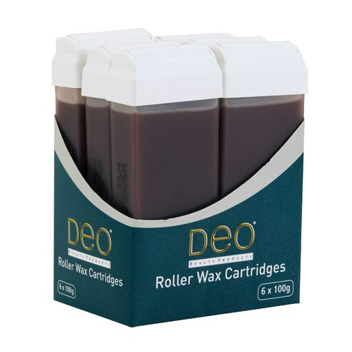 Cire Roll'on chocolat Deo - paquet de 6