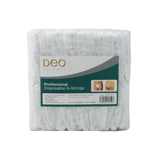 Strings jetables Deo Blanc (X50)