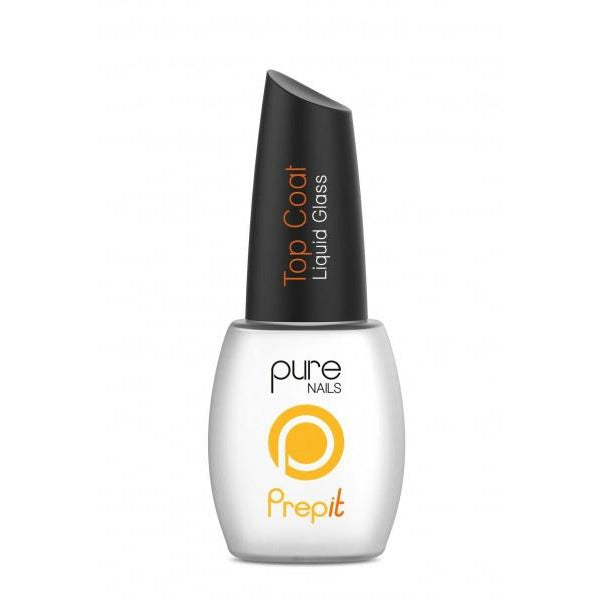 "Top Coat ""Liquid Glass"" 15ml Pure Nails"