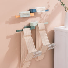 Load image into Gallery viewer, Clothespin and Hanger Holder - White