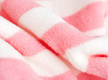Load image into Gallery viewer, Microfiber Hair Wrap-Pink and White