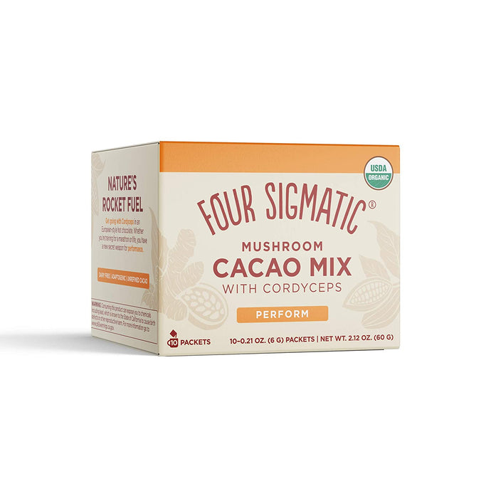 Mushroom Cacao with Cordyceps, 10 packets