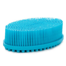 Load image into Gallery viewer, Silicone Body Scrubber - BLUE
