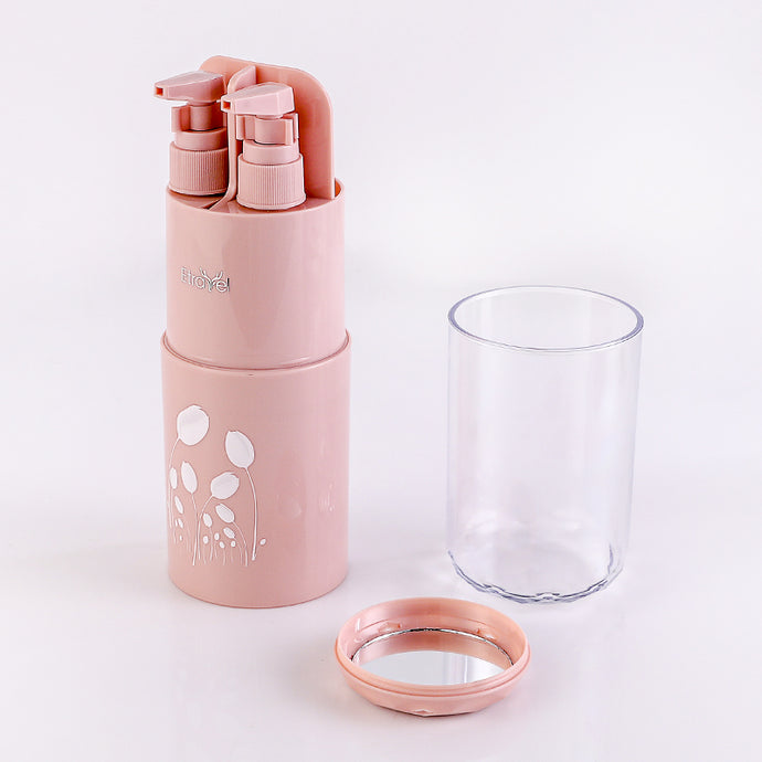 Travel Toothbrush Cup Case - PINK