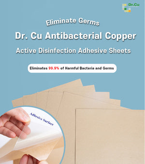 Dr. Cu Antibacterial Copper Adhesive Sheets - DrStayClean