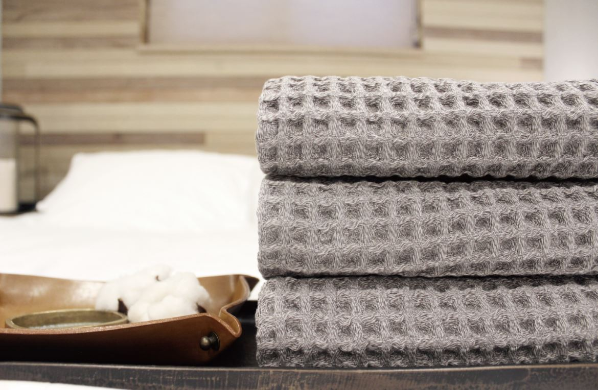 [1set] Silverlining New Wave Face Towels (3p) (Silver + Organic Cotton) - DrStayClean