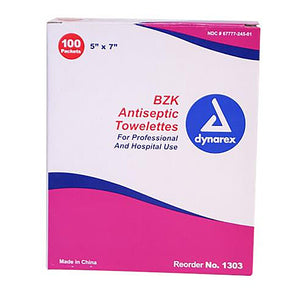 Personal Protection  BZK TOWELETTE WIPES