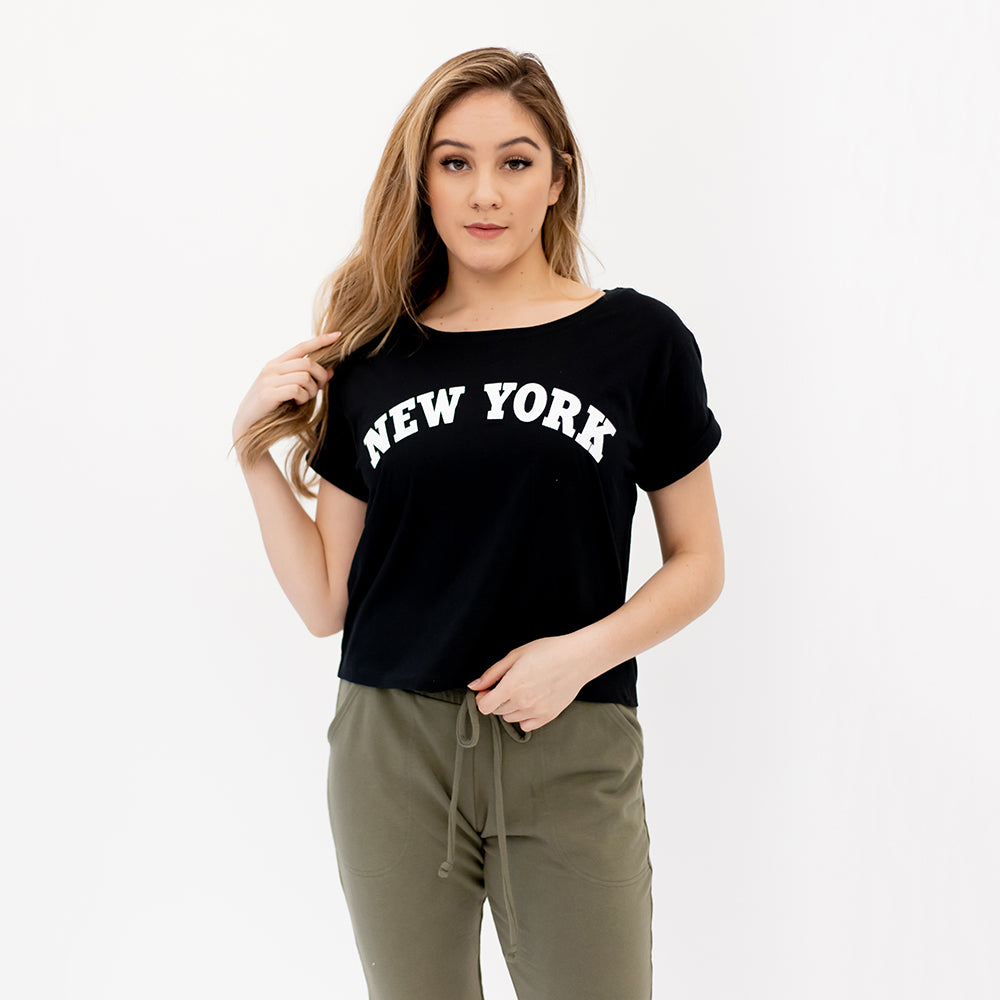 BDC New York Boxy Tee