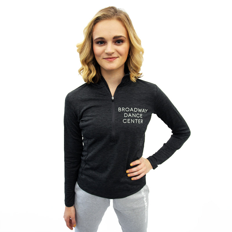 Fitted Quarter-Zip Pullover