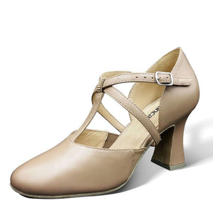 "So Danca Roxy T-Strap 3"" Heel"