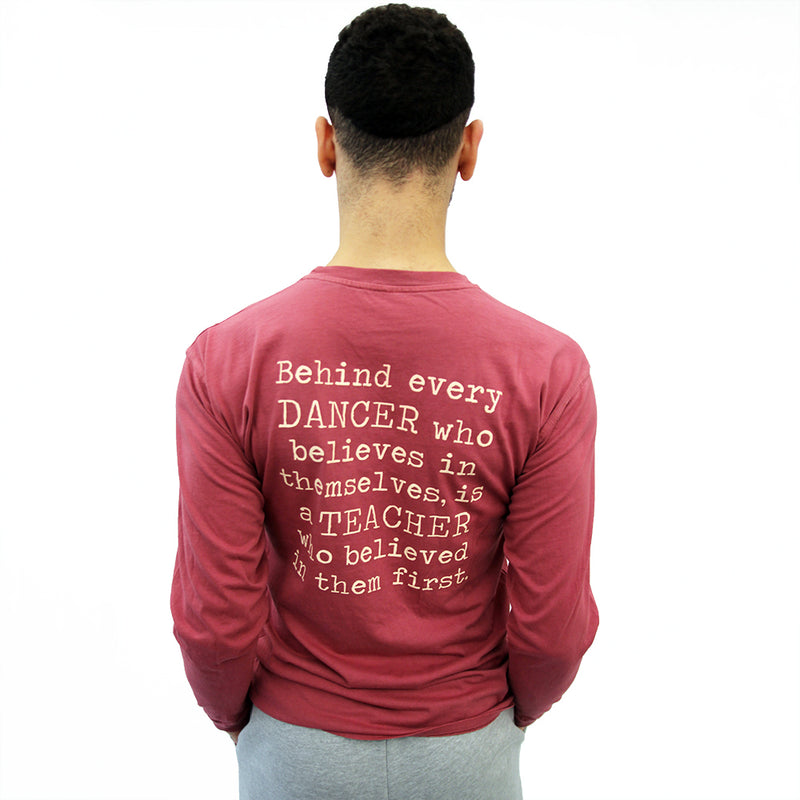 Teacher Quote Long Sleeve