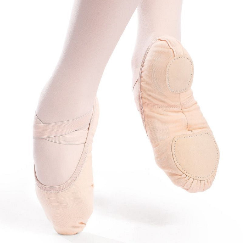 So Danca Verdi Vegan Canvas Ballet Slipper