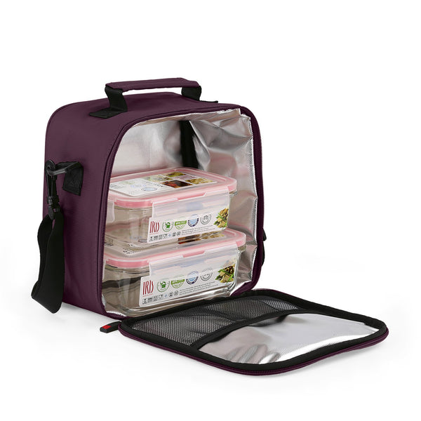 Bolsa Térmica Iris Lunchbag Basic Color Morado