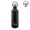Laken Basic Steel Bamboo 1L Botella en Acero Inoxidable 18/8, Tapón Rosca