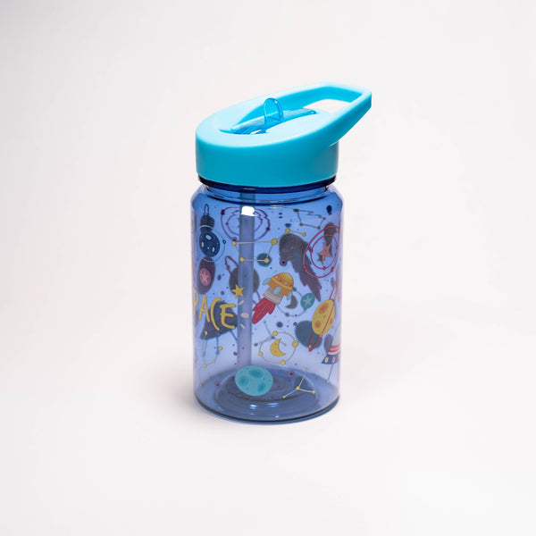 Water Revolution - Botella Infantil de Tritán 450 ml, Kids Espacio