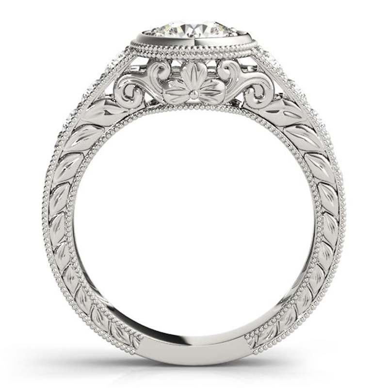 MW Fashion Moissanite Engagement Ring - mwring