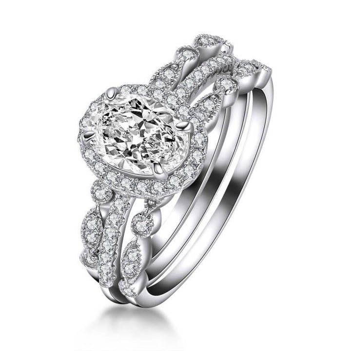 MW fashion moissanite ring