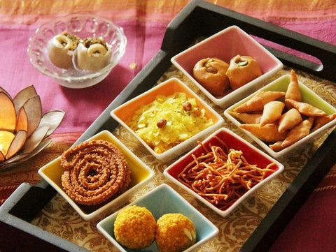 indian sweets and savoury