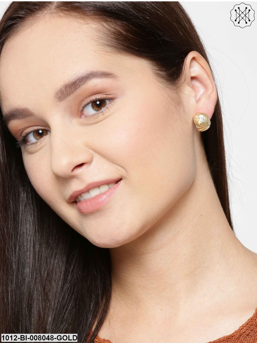 Prita Set Of 2 Gold-Plated Studs