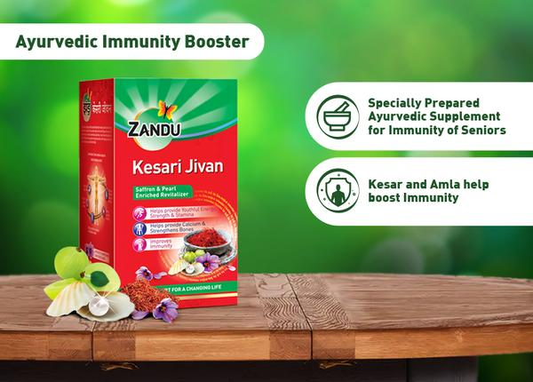 Zandu Kesari Jivan 200 gm Pack of 3