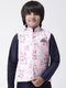 Hangup Boys Polyester Blend Printed  Multi Color Waistcoat(Kid_Nehru_10A)
