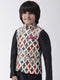 Hangup Boys Polyester Blend Printed  Multi Color Waistcoat(Kid_Nehru_52A)