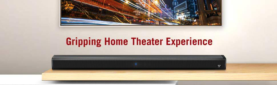 TaoTronics TV Sound Bar SK023 Home Theater Experience