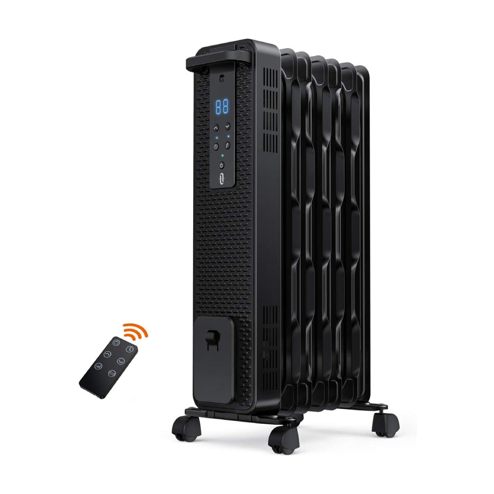 Space Heater 005 1500W Oil Filled Radiator Heaters with 3 Heating Mode-TaoTronics