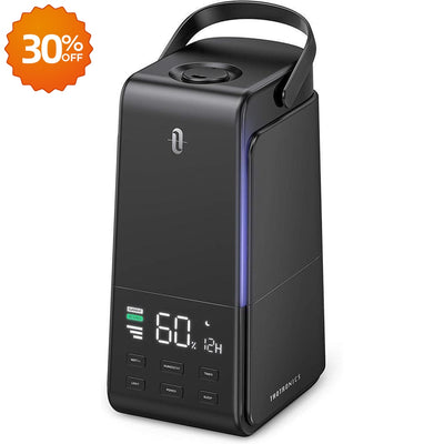 4L Ultrasonic Cool Mist Humidifier with Automatic Humidity Monitoring-TaoTronics