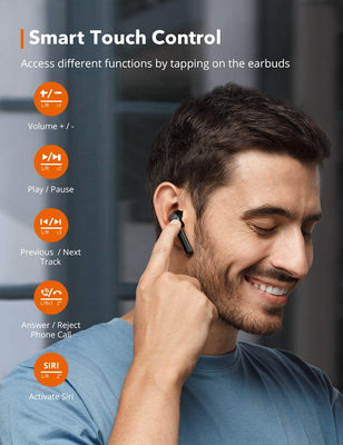 SoundLiberty 92 Bluetooth 5.0 TWS Earbuds IPX8 Waterproof-TaoTronics