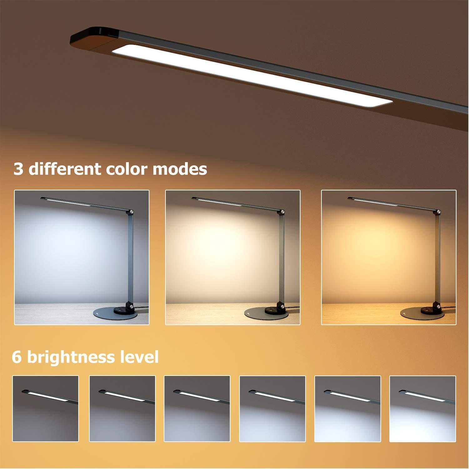 TaoTronics Aluminum Alloy Dimmable LED Desk Lamp DL22 Gallery 4