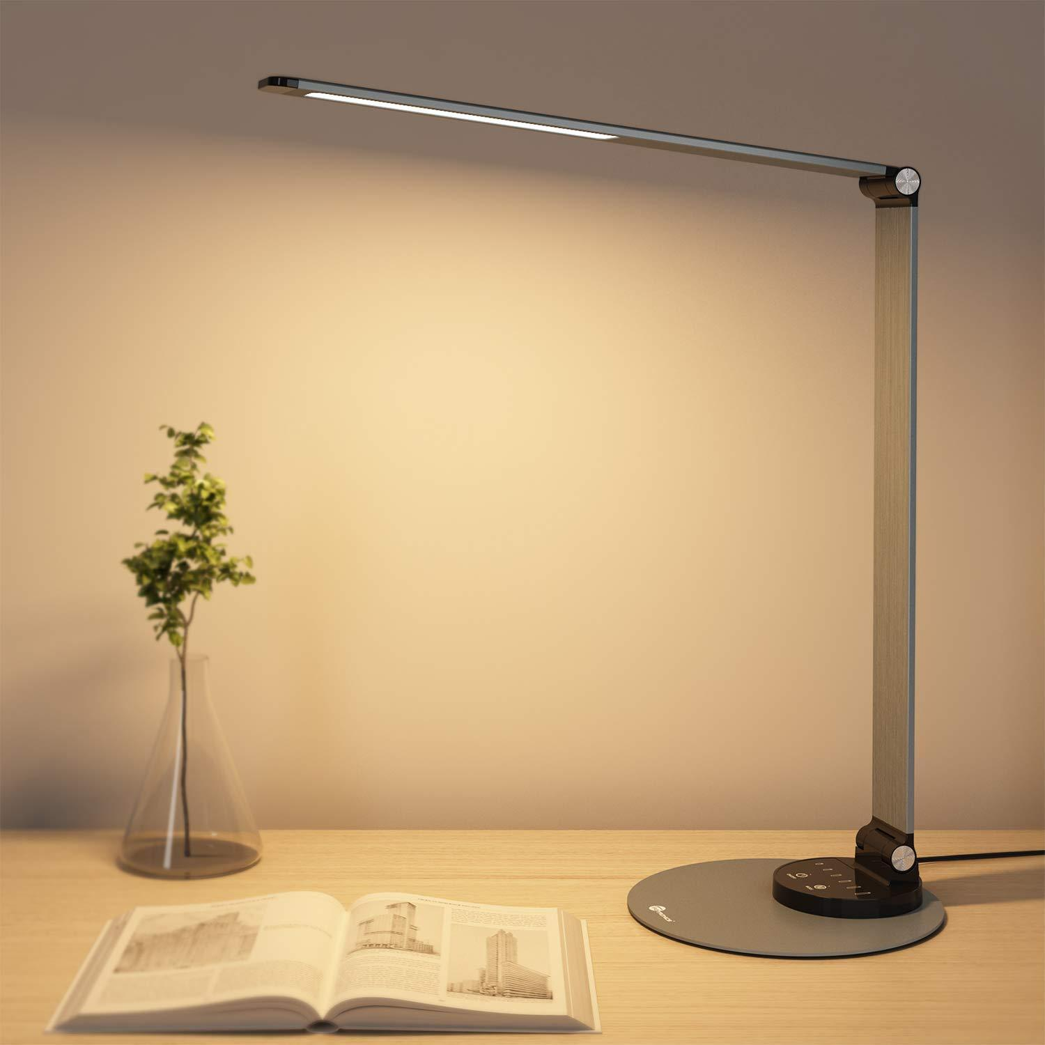TaoTronics Aluminum Alloy Dimmable LED Desk Lamp DL22 Gallery 7