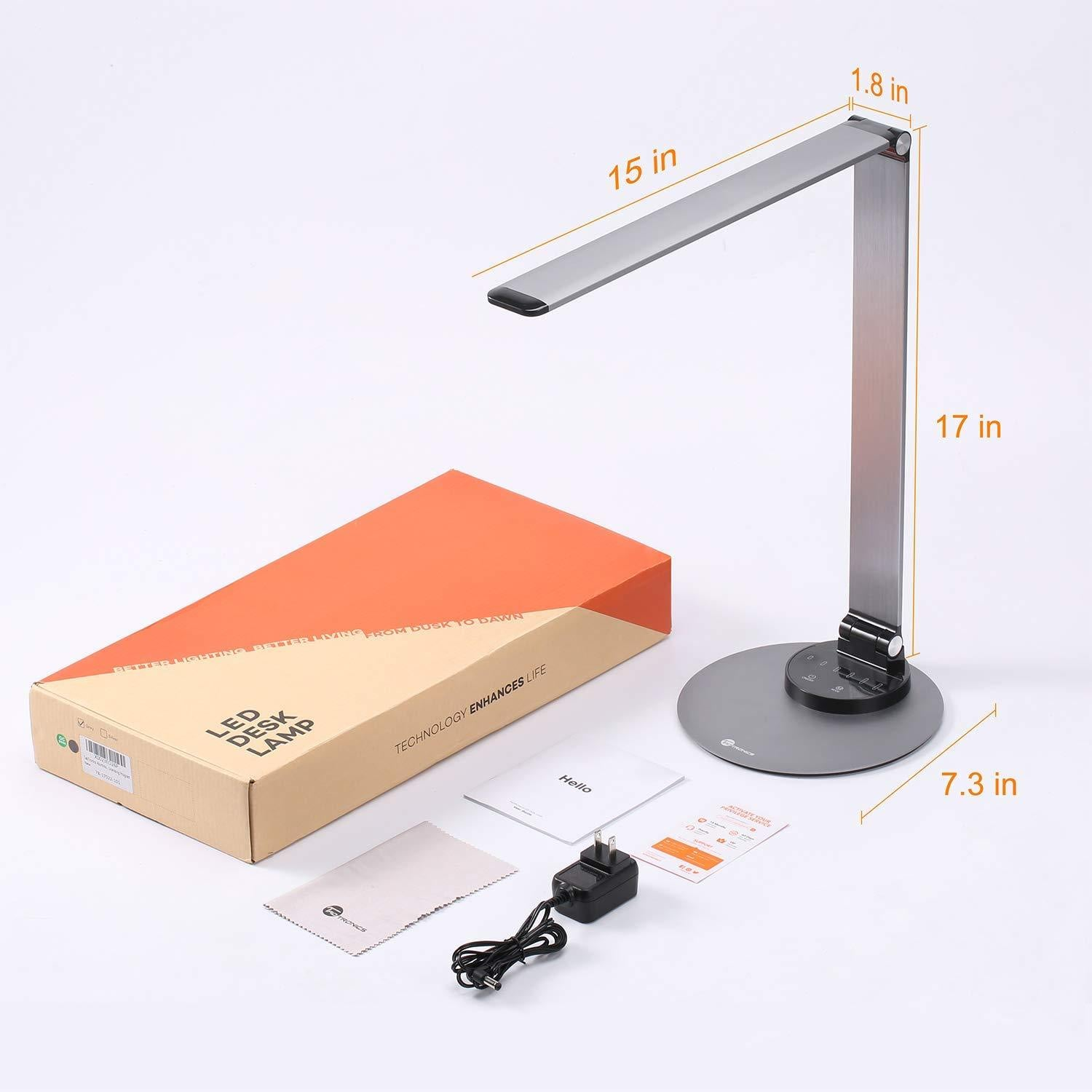 TaoTronics Aluminum Alloy Dimmable LED Desk Lamp DL22 Gallery 8