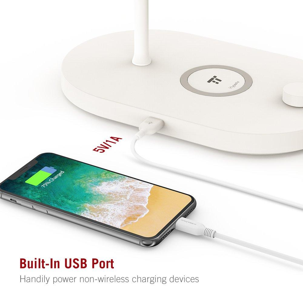 TaoTronics Bedside Lamp with Fast Wireless Charger CL009 Gallery 5