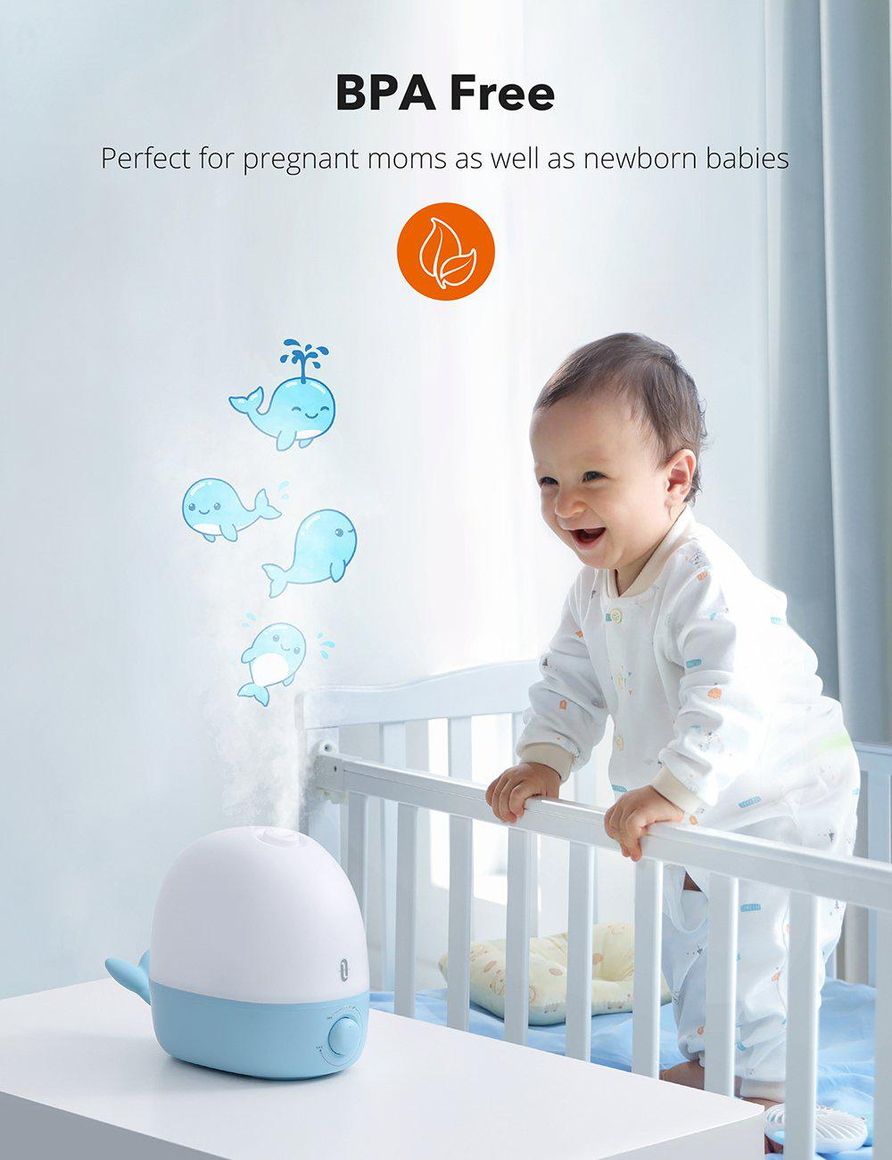 TaoTronics BPA-free Humidifiers for Baby AH038 Gallery 6