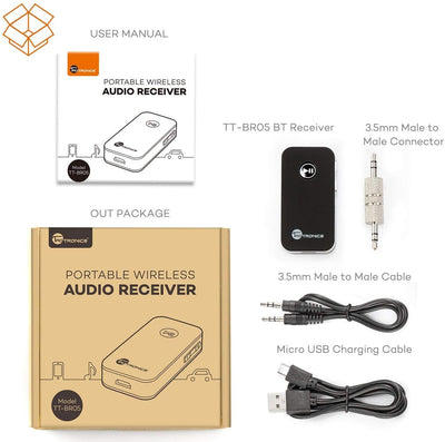 TaoTronics Car Kit Portable Wireless Audio Adapter BR05 Gallery 11